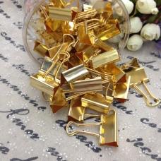 金色長尾夾